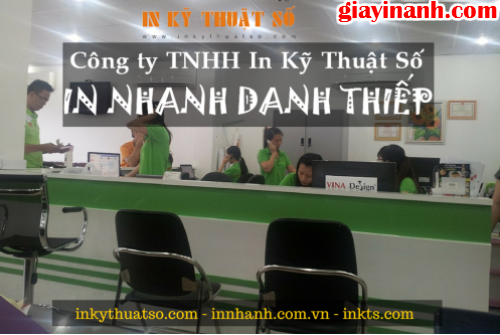 đặt in danh thiếp