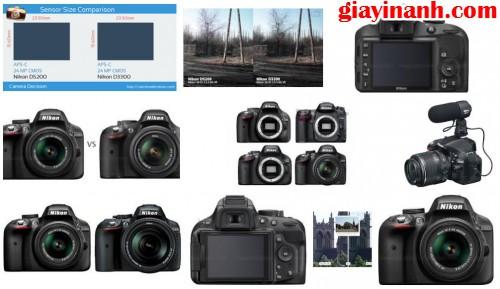 Nikon D5200 và Nikon D3300